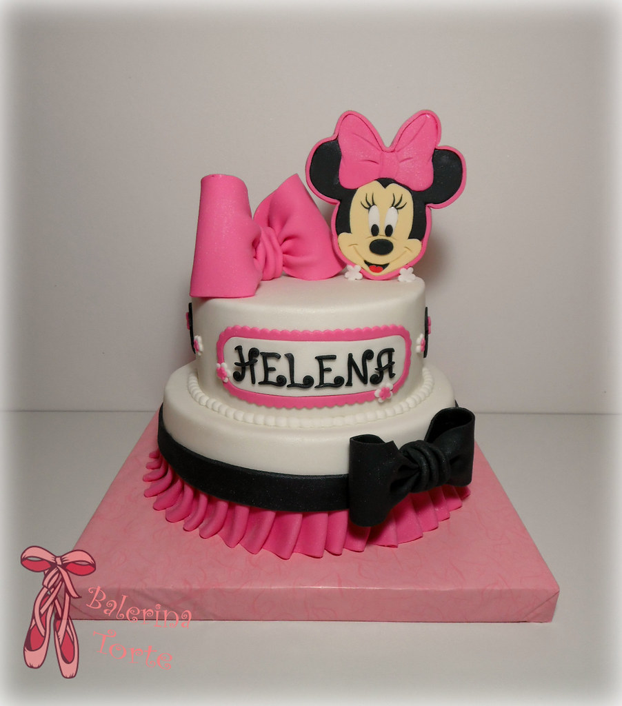 D Minnie Mouse Cake Tutorial