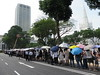 Queue for Lee Kuan Yew