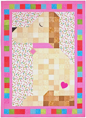 Doggone Cute Custom Quilt by Whimzie Quiltz