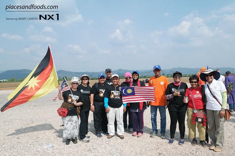 satun kite festival team malaysia