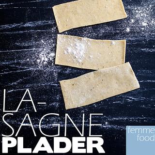 Hjemmelavede, glutenfrie lasagneplader!