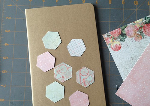 Strong Arts and Crafts Spring Hexi Journal