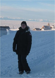 Melissa McKinney in Greenland