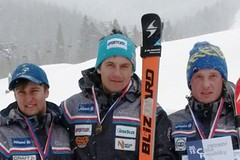 Mistrem republiky v obřím slalomu 2015 se stal Kryštof Krýzl