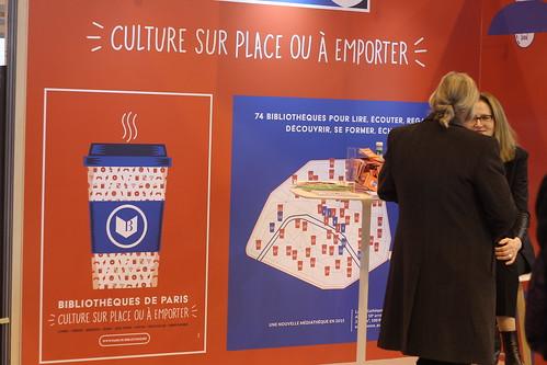 Mairie de Paris, Culture sur place ou à emporter - Salon du Livre de Paris 2015