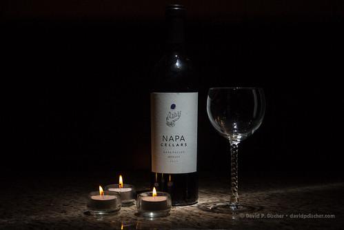 Day 050.365 - Wine Bottle by DavidDPD