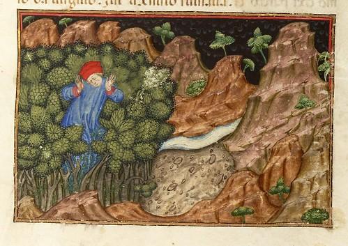 001-Ms 2017- L'Enfer de Dante…1401-1500- folio 6r- Bibliothèque nationale de France