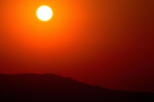 sunset japan 夕景 奈良