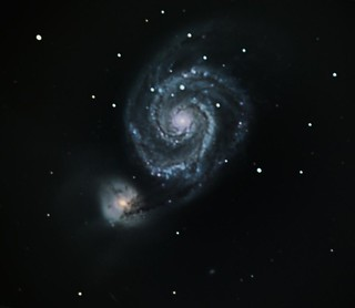 M51 - the 'Whirlpool' galaxy