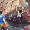 Swing around. #Bouldering #RockClimbing #WeDoHardThings
