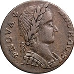 1787 Nova Eborac Copper
