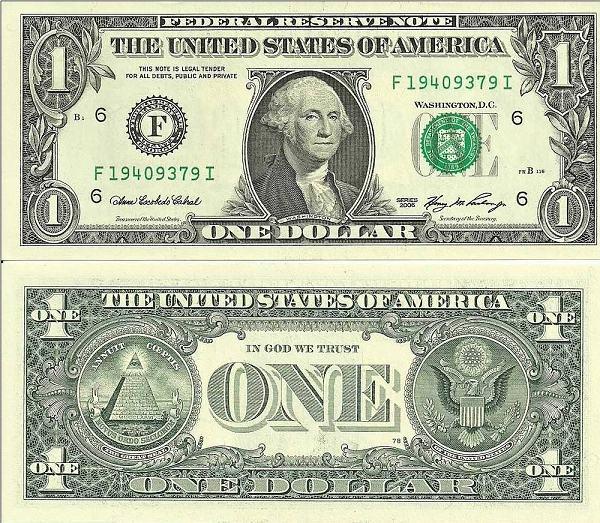 1 Dolár USA 2006 F