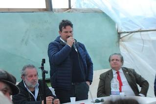 Tonio Palmisano interviene presso il Comitato Terre Joniche