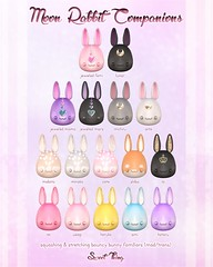 Moon Rabbit Companions by Sweet Thing.
