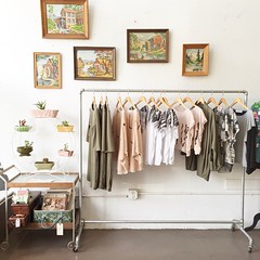 The cat's out of the bag... The second Amelia Outpost is opening, inside the charming shop, @hootandlouise in Memphis, TN. Shop owner Anna Avant brings the small batch indie and vintage fashion and I'll stock it with housewares, children's clothing, gifts