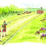 A Roman road by Kate Chitham
