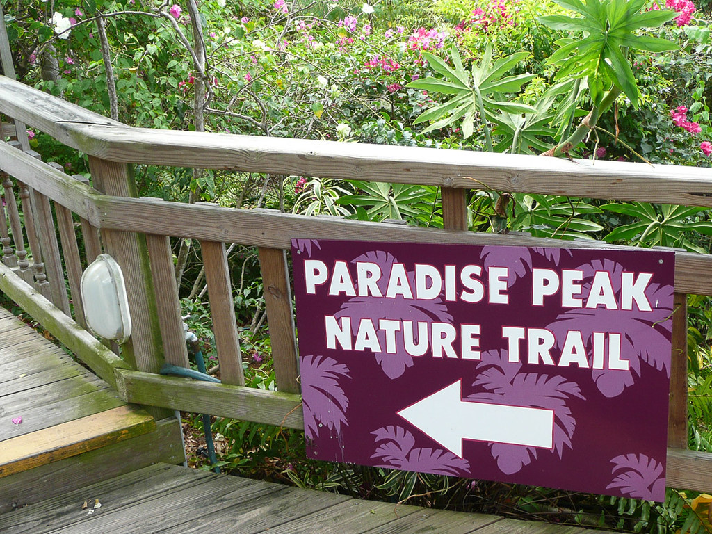 Paradise Point Nature Trail in St. Thomas
