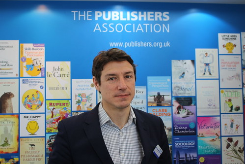 Richard Mollet, chief executive of The Publishers Association - London Book Fair 2015