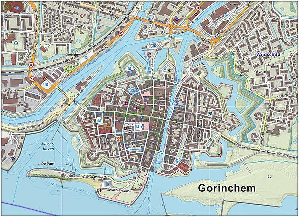 Gorinchem-centrum-OpenTopo