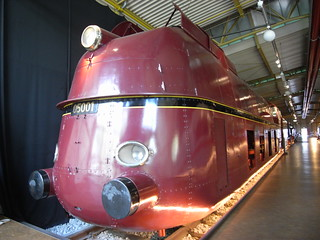 05001 streamliner at Nürnberg Railway Museum
