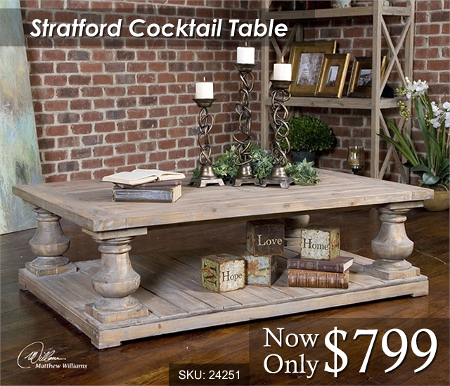 24251 Stratford Cocktail Table