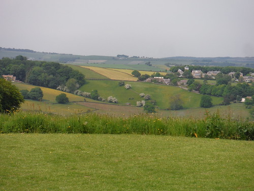 View from garden of The Norfolk Arms, Ringinglow
