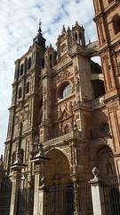 Astorga facciata cattedrale