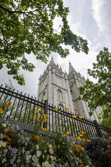 Mormon Temple - Salt Lake City Utah