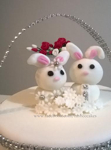 Cute Bunny Cake by Nishani Dewaraja of Nishee Cakes