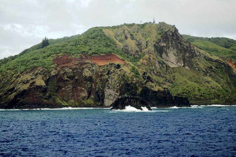 Approaching Pitcairn Island - Peter Farr