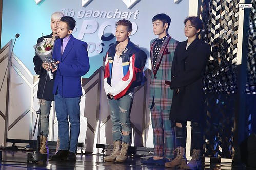 Big Bang - The 5th Gaon Char K-Pop Awards - 17feb2016 - likeyou_GD - 08