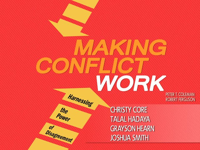 PowerPoint Design: Making Conflict Work (Book Review)