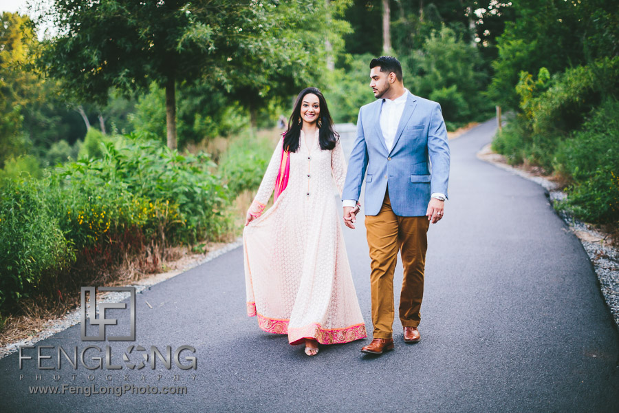 Atlanta Pakistani Engagement Photographer | Piedmont Park Indian Wedding Photography
