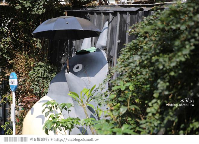 【大里龍貓】台中大里龍貓公車站《喬城站》~可愛的立體龍貓超吸睛!拍照去~14