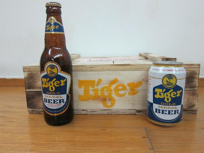 Tiger Beer Limited Edition 1965 Vintage Can & Bottle
