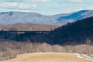 Moodna Viaduct view
