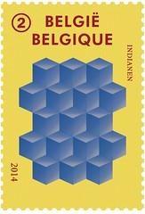 20 Illusions d'optique timbre C