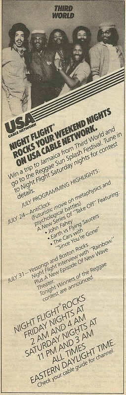 08/05/82 RS (Night Flight on USA - Schedule Ad)