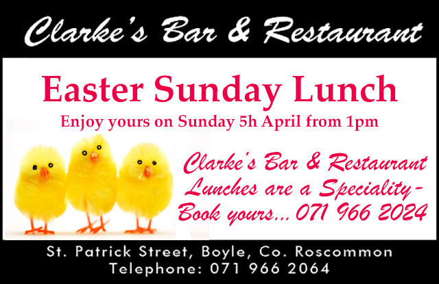 Clarkes Easter Sunday Lunch