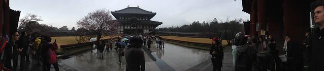 Daibutsuden panoramic