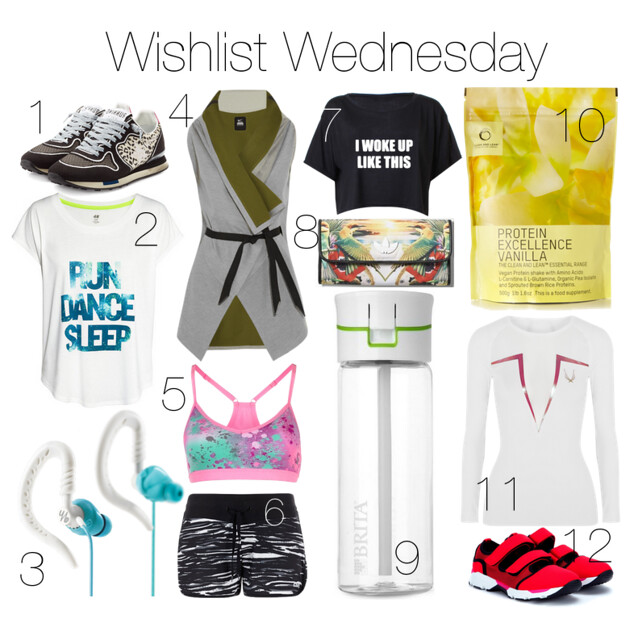 Wishlist Wednesday Sporty I www.StylebyCharlotte.com