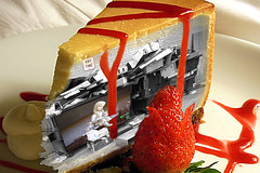 Dumpster Doll Cheesecake