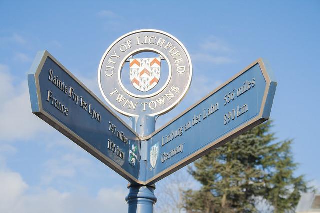 Lichfield twin towns