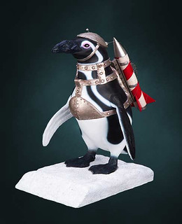 Hollywood Collectibles Group【飛彈企鵝】Penguin Commando 1:1 全身雕像