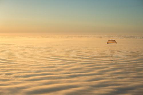 Expedition 42 Soyuz TMA-14M Landing (201503120116HQ)
