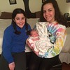 @lizzybaldasaro and @emma_baldasaro enjoyed meeting baby Charlotte today.