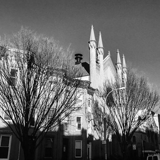 Park slope church. #brooklyn #nyc #igersnyc #blackandwhite #MPNselects