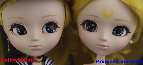 Sailor Moon Vs Princess Serenity Face Up Comparison