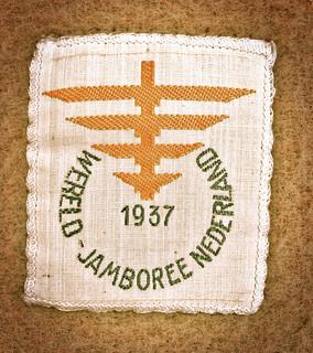 Scout badge world jamboree 1937