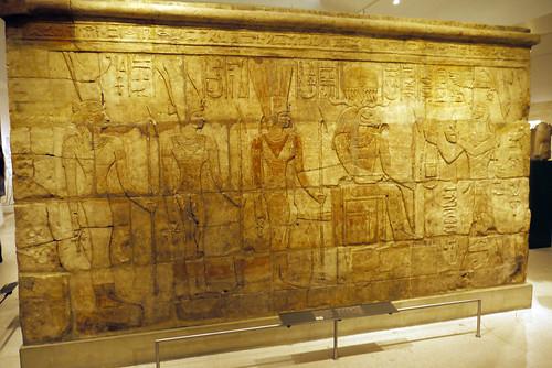 Sandstone wall of King Aspelta